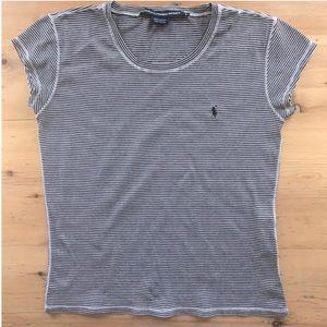 Ralph Lauren Sport Navy Striped T-shirt